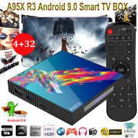 A95X R3 SMART-TV BOX med Android 9.0  inkl 1 års Abb inkl ALL Sport & Film