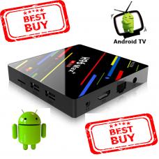 H96 MAX PLUS EN MAKALÖS ANDROID SMART-TV BOX inkl 1 års Abb inkl ALL Sport & Film