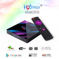 ÄR DIN SMART-TV LÅNGSAM&SEG? SMART-TV BOX H96 Max Android 9.0 - Titta på Netflix HBO och alla andra av dina TV FAVORITER